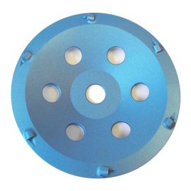 "6360 7"" / 180mm Standard PCD Cup Disc - Blue"