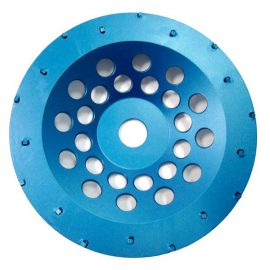"6361 7"" / 180mm 18 Segment PCD Cup Disc - Blue"