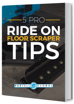 5 PRO Ride on Floor Scraper Tips